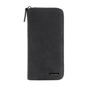 Luxury High Quality Alcantara Material Wallet Long Wallet For Men For Lady