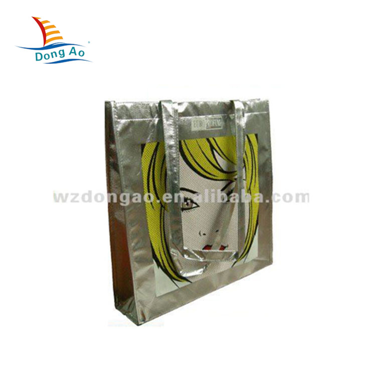 Top sale guaranteed quality supermarket eco-friendly shopping bag custom