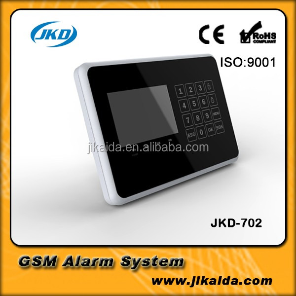 Hot Selling wholesale Wireless GSM Alarm System 433MHz Home Burglar Security Alarm System