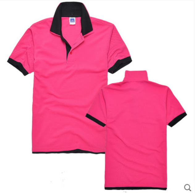 Hot sell custom double layers collar polo shirt two color for Places to sell t shirts