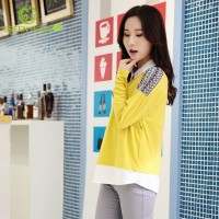 formal comfortable wholesale blank long sleeve 100%cotton t-shirt
