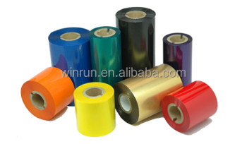 Bule TTR resin ribbon for barcode printer