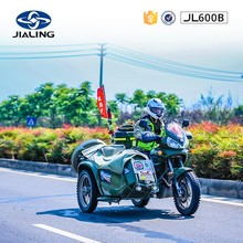 JH600B 600cc classical Retro Motorcycle with sidecar