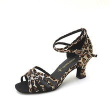 Latest Design new lady fashion latin dance shoes with high quality