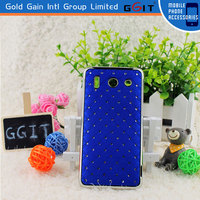 Magic Sparkling Babysbreath Electroplate Bling Diamond Electroplating Hard Case For Huawei G510
