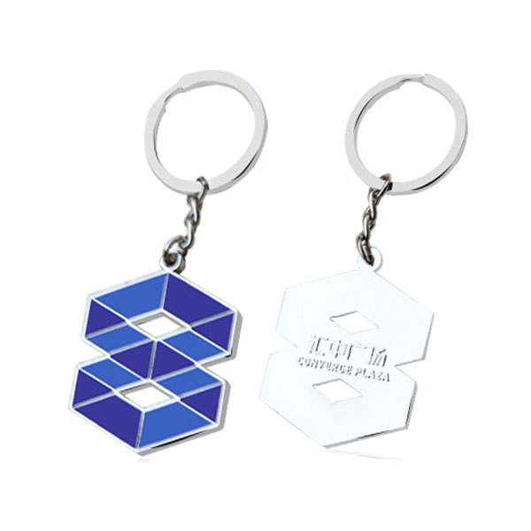 number eight shape key chain wholesaler in China mainland