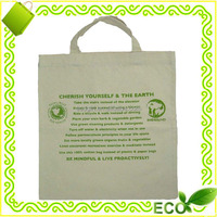 going green reusable promotional shopping handled grocery natural cotton tote bag
