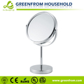7 Inch Chrome Finished Plastic Acrylic Mirror