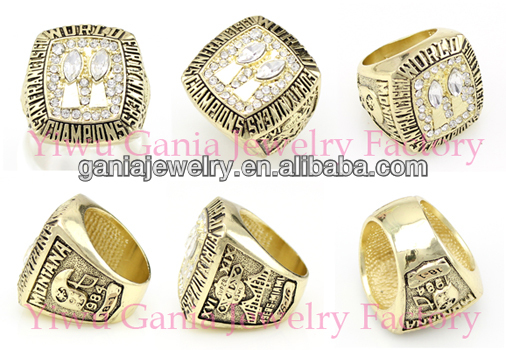 1984 World Champions Luxury San Francisco Super Bowl World Champions National Sports Basketball Championship Rings