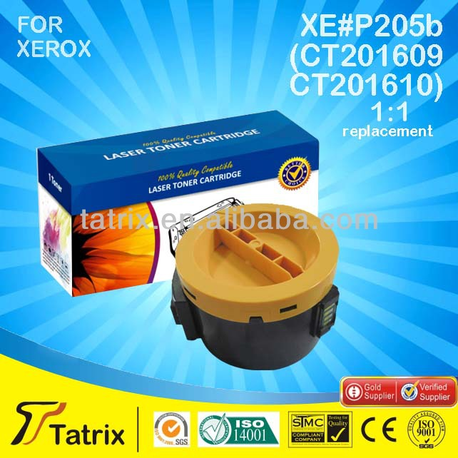 CT201609 /CT201610 Compatible Toner Cartridge for Xerox P205b, Made in China,Alibaba Gold Supplier