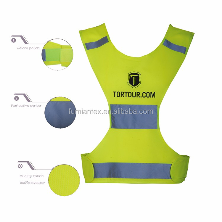 High End Quality-Assured Brushed Teflon Reflective Vest