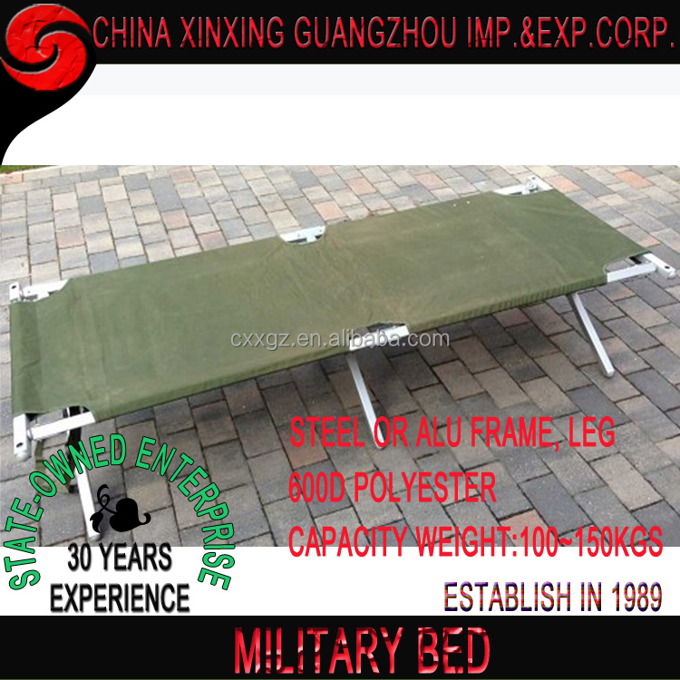 New Military Style Folding Outdoor Portable Camping Hiking Bed
