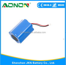7.4v 6000mah 18650 Li lon battery for laser pointing device