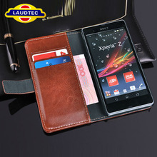 For Sony Xperia Z L36h Top Quality Wallet Leather Case Cell Phone Accessories China