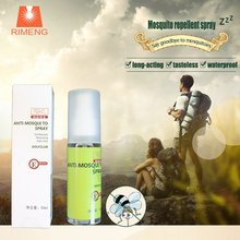 Using non-toxic insect repellent safe mosquito repellent aerosol spray