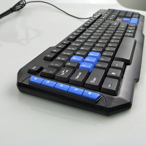 Fast Delivery 10 million times aluminum alloy mechanical game keyboard