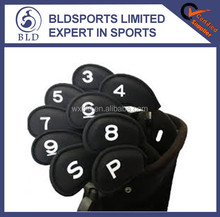 High quality and Fashion neoprene golf iron head covers