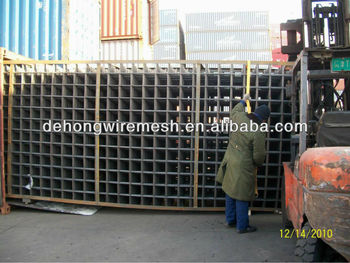 welded steel bar mesh panel/metal welded mesh panel