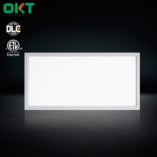 Indoor Office Building Lighting ETL DLC 2'X4' 50W Integral Driver Step Dimming Surface Mounted Square Led Flat Panel Light