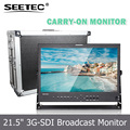 178 Degrees Wide View Angle 21.5 inch SDI LCD Field Camera 1920x1080 IPS Panel Monitor with HDMI Input and Output