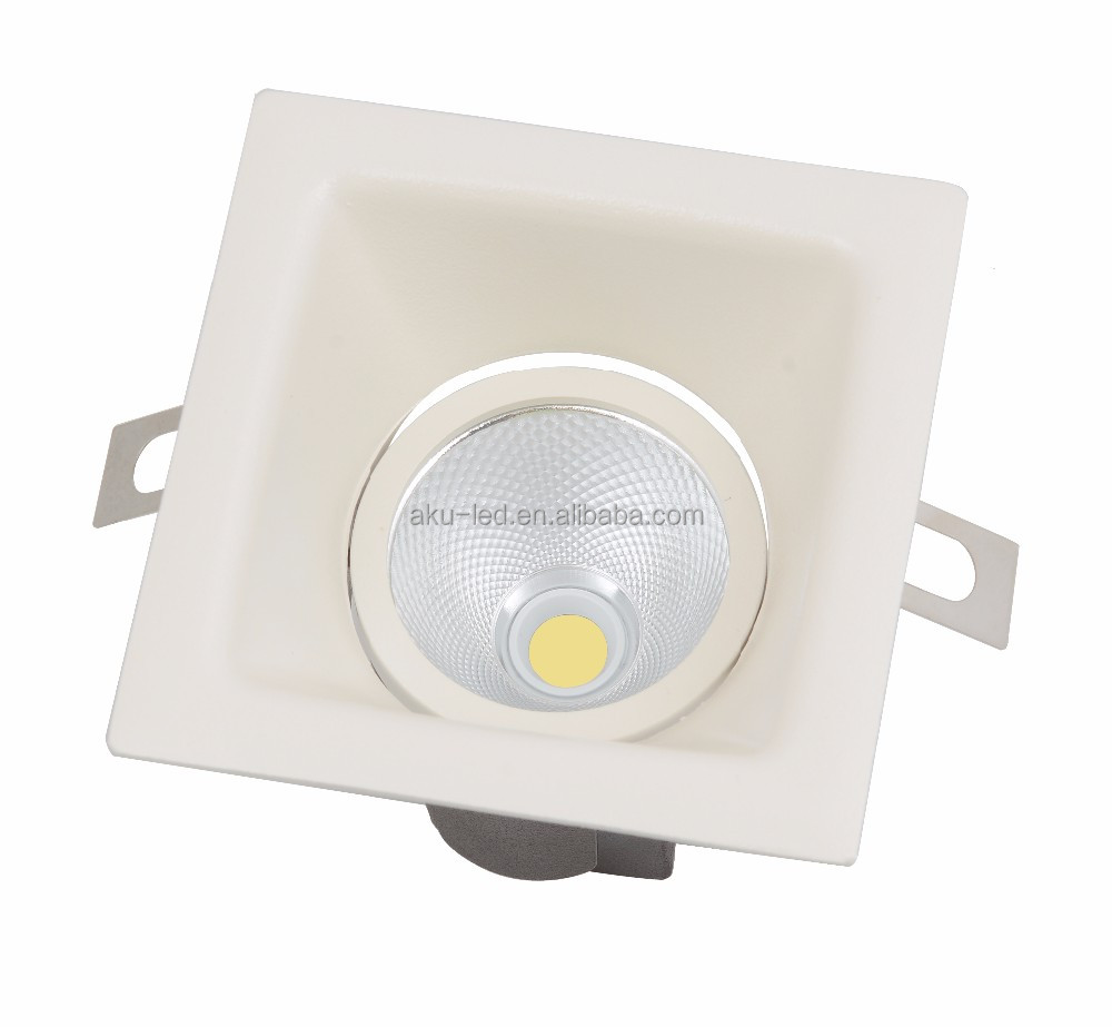 Square Recessed Down Light Housing 12-15W SKD CKD Available