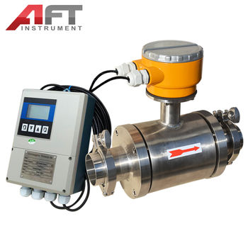 All 304 material milk electromagnetic flowmeter