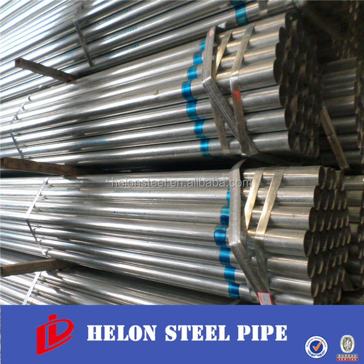 structure building material Pre galvanized steel pipe for home furniture made in china