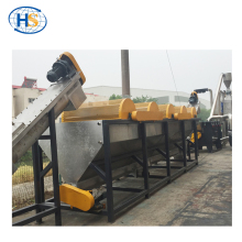 High output PET bottle PE film pellet making machine plastic washing recycling line