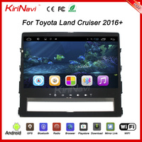 "Kirinavi WC-TL1067 10.2"" andriod 6.0 car radio dvd for toyota land cruiser prado 2016 + touch screen"
