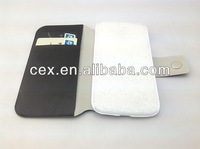 For Samsung Galaxy S4 i9500 PU Leather Flip Folio Wallet Credit Card Slots Case