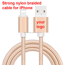 Strong OEM braided fast charging nylon usb cable driver download usb data cable for iphone usb cable