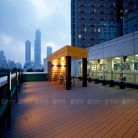 elegant deck floor covering co-extrusion wpc decking exterior balcony flooring