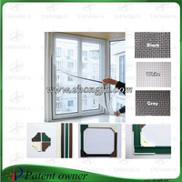 Magnetic mosquito nets for window