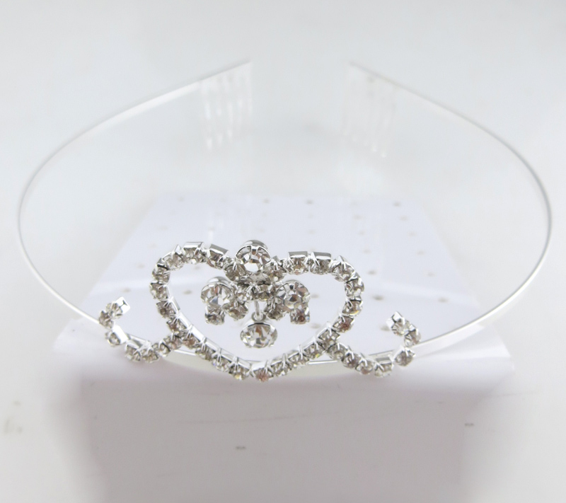 Ladies dazzling evening party custom pageant crown