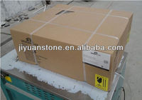 Manufacture Excellent Quality Natural granite White porcelain sink bathroom hotel sandy gold gra
