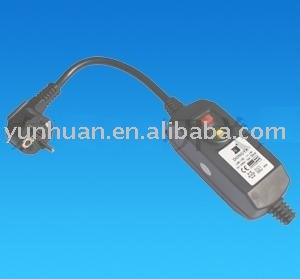 PRCD in line Rcd plug power cable cord mains lead IEC CE approval European style RC protected