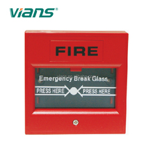 DoubLe PoLe (two way) break glass fire imperative door exit button