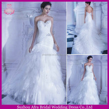 SD918 Manufacture direct sale cheap alibaba bridal gowns elie saab prices latest-bridal-wedding-gowns-pictures