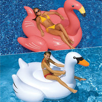Swimline Giant Swan and Flamingo Pool Floats