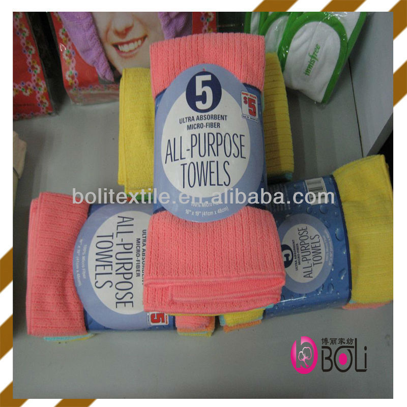 kitchen/dish cloth strong absorbent washing towels useful toilet hand towels cotton/microfiber