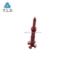 OEM ODM High Quality Fabrication Custom Red Anodized Polishing Aluminum CNC Turning Parts