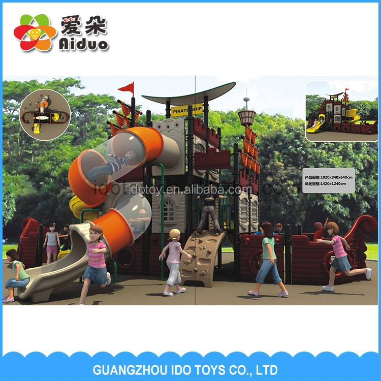Factory Price Children Used Playground Slides For Sale, Kids Playground Outdoor