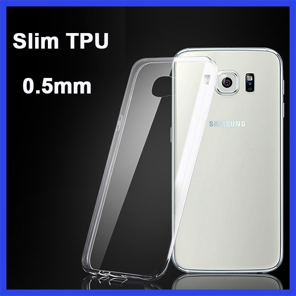 Factory printing custom designed logo cheap soft clear transparent TPU cell phone case for samsung j6