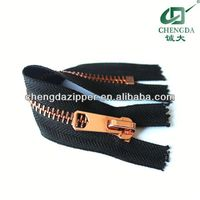 high quanlity metal teeth zipper roll
