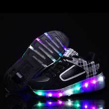High Quality Lightweight Breathable Comfortable Led Light Roller Skate Shoes