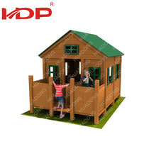 Cheap Hot Sale Anti-Fade Kids Small Toy Wooden Play House