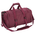 Perfect and convient Red travel pack sports gear duffel gym bag