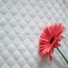 White Simple Design XZW-400 Yarn Dyed Polyester Knitted Mattress Ticking Fabric Factory Direct Fabric