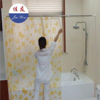 JYXF flexible metal curved shower curtain rod JYY-620S
