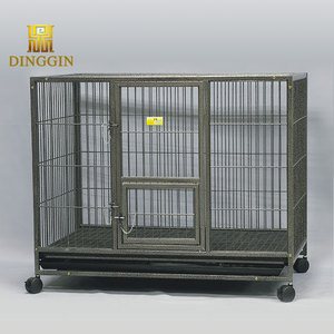 Mobile cubic tube dogs cage